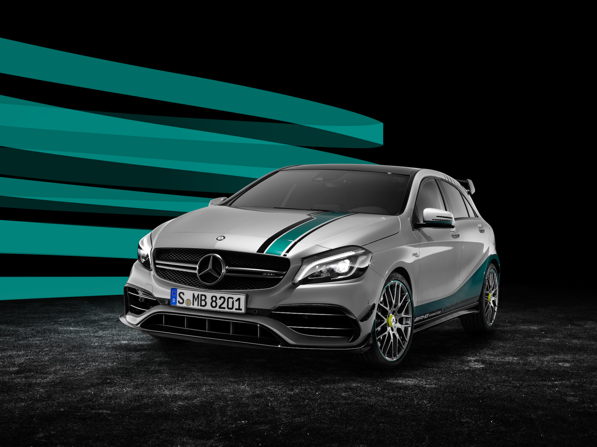 Mercedes-AMG A 45 4MATIC Champions Edition   Mercedes-AMG A 45 4MATIC Champions Edition