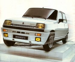 Renault 5 Turbo Laureate