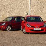 Renault Clio 2 RS vs Clio 3 RS