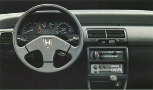 Honda Civic 1L6i-16 ED7 (1987)