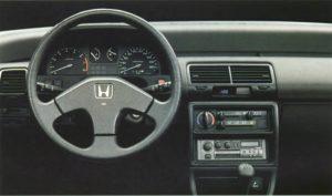 Honda Civic 1L6i-16 ED7 (1987)