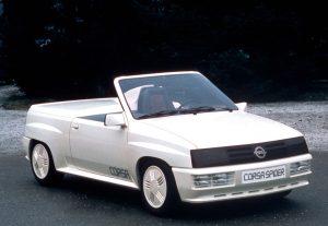 Opel Corsa A Spider Concept (1982)