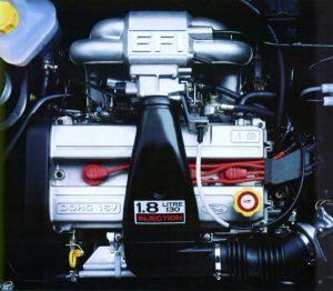 Ford Fiesta XR2i 16V (1992) moteur Zeta - Zetec