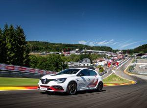 La Renault Megane 4 RS Trophy-R bat un record à SPA Francorchamps lors des RS Days en juillet 2019.