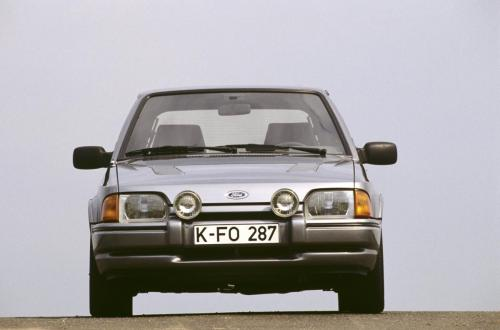 Ford Escort RS Turbo, 1986