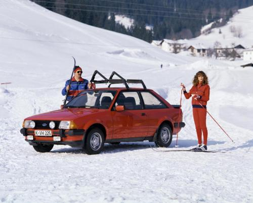 1981-Escort XR3 Winter