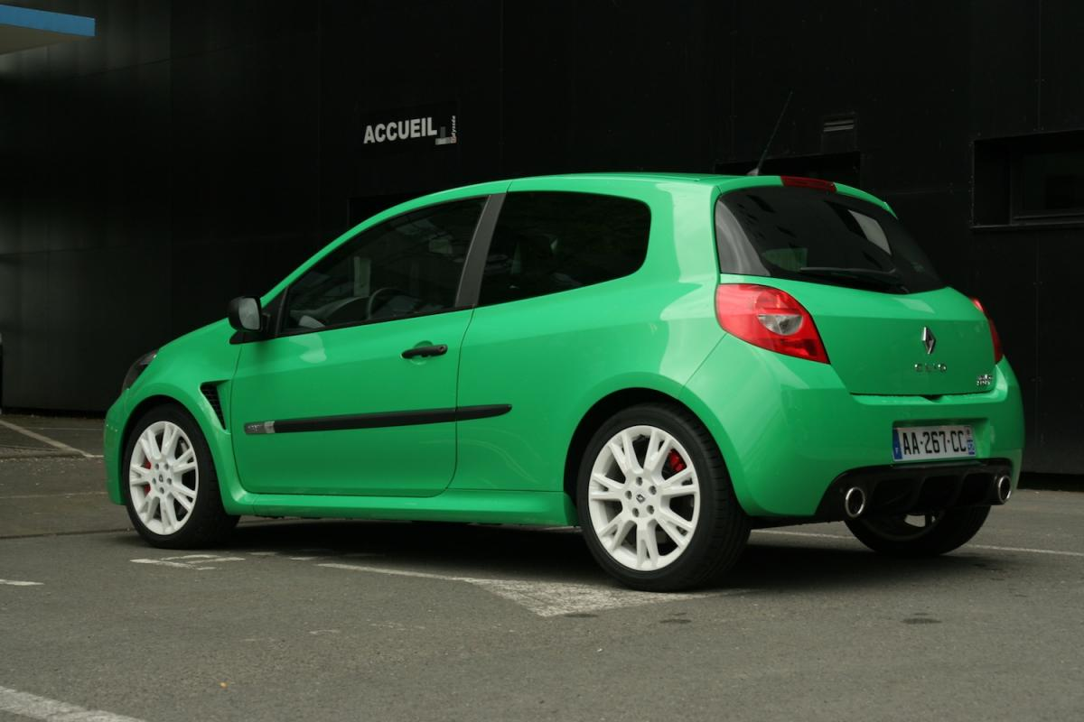 renault clio  rs cup phase  essai
