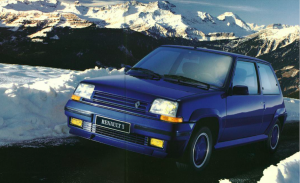 Renault Supercinq GT Turbo Oreille